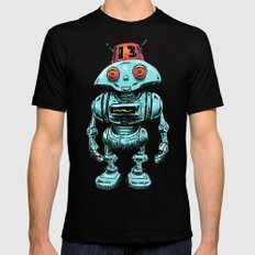 Little Robo 2X-LARGE Mens Fitted Tee Black