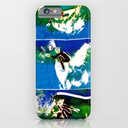 SURFING DAYS          by Kay Lipton iPhone Case