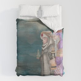 Michael's First Christmas, Three Wise Men Duvet Cover