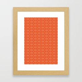 Geometric Pattern #013 Framed Art Print