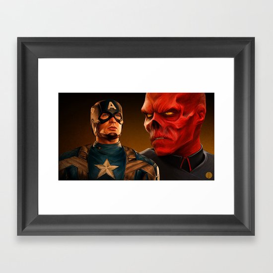 WHO'S YOUR CAPPIE? Framed Art Print