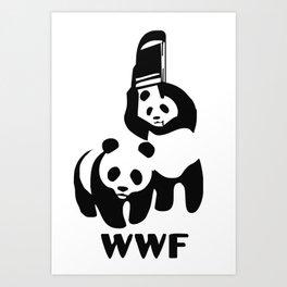 WWF Art Print