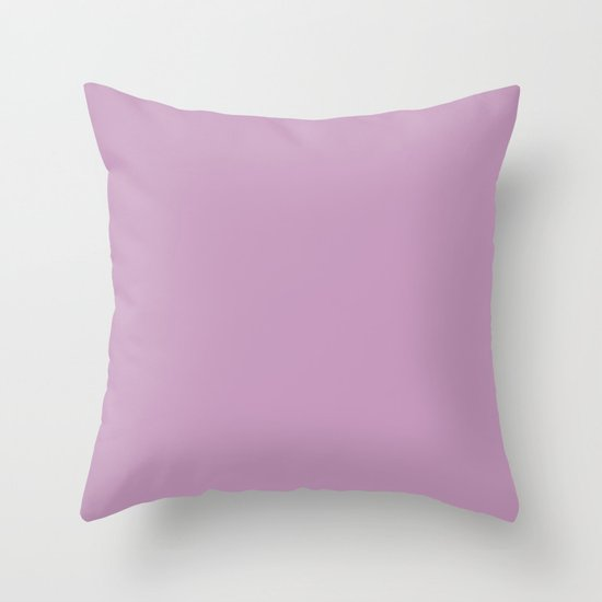 Granny's Purple Throw Pillow