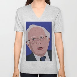 Bernie Face Unisex V-Neck