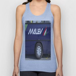 Malev Airlines Unisex Tank Top