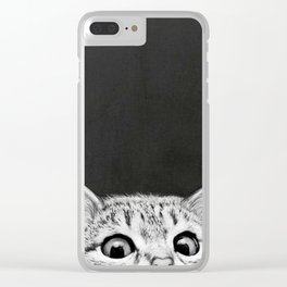 You asleep yet? Clear iPhone Case