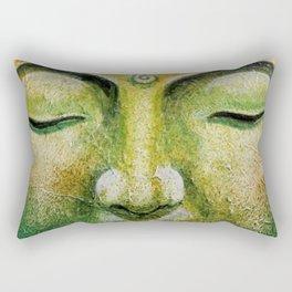 Lord Gautama Buddha Face Rectangular Pillow
