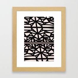 Ironwork_vertical Framed Art Print