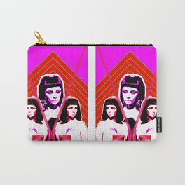 Elizabeth Taylor Goddess - Digital Collage Carry-All Pouch