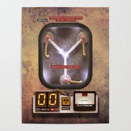 Flux Capacitor Machine Poster