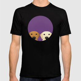 Tan Lab & Yellow Lab T-shirt