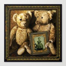 Dear Old Teddy Bears Canvas Print