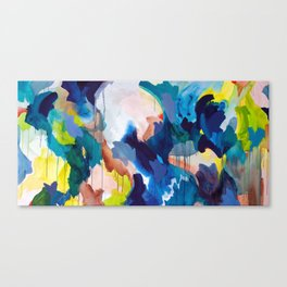 Cooling Abstract Canvas Print