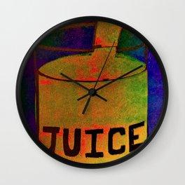 Juice 1 - Dream Pop Art Print Wall Clock