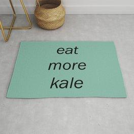 eat more kale Rug