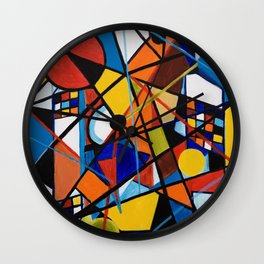Lines and Circles Wall Clock