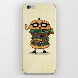 Geek Burger v.2 iPhone Skin