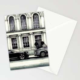 THE STREET OF LONDON IN GREYS Stationery Cards