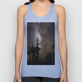 Mountain Milky Way Unisex Tank Top