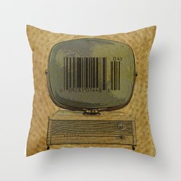 Commercial Real Estate Throw Pillow