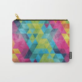 Fragmented folds Carry-All Pouch