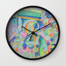 Pleiades Garden Wall Clock