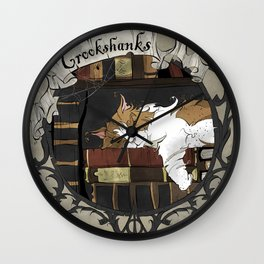 Crookshanks Wall Clock
