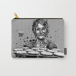 Carol's Got Cookies! From the Walking Dead. Melissa McBride in comic book form. Carry-All Pouch