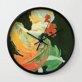 La Loie Fuller Wall Clock