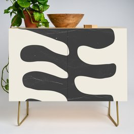 Abstract Plant 2 Credenza
