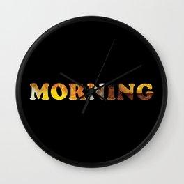 Breakfast Of Champions Wall Clock