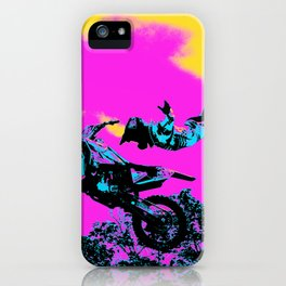Letting Go - Freestyle Motocross Stunt iPhone Case