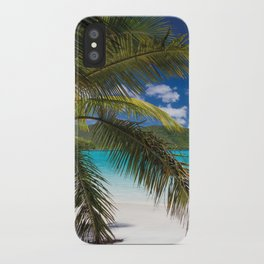 Tropical Shore iPhone Case