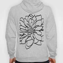 Flower (white) Hoody