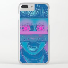 Awesome Mix Vol.1 Clear iPhone Case