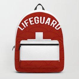 Lifeguard, Life guarding, Coast Guard, Beach , Baywatch Backpack