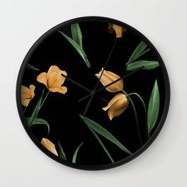 Tulip Age Wall Clock