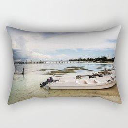 Mexico, Isla Mujeres Rectangular Pillow