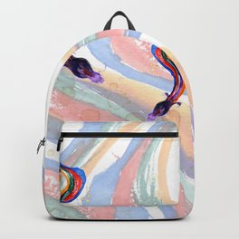 Dragon strokes Backpack