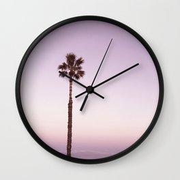 Stand out - ombré amethyst Wall Clock