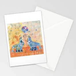 Toss it to Me Stationery Cards