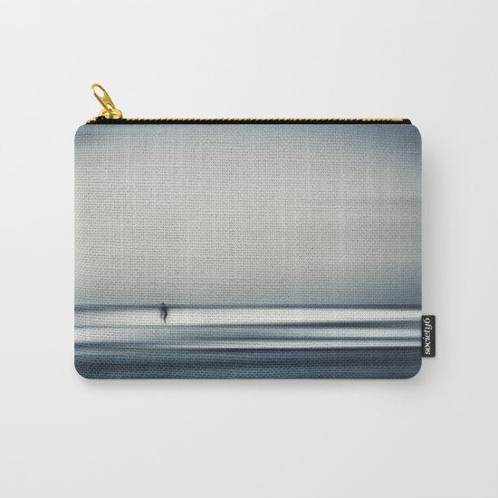 sea + surfer abstract Carry-All Pouch