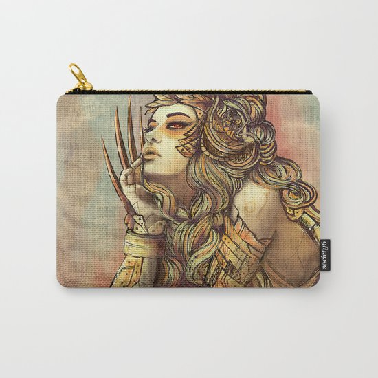 Zodiac Sign: Leo Carry-All Pouch