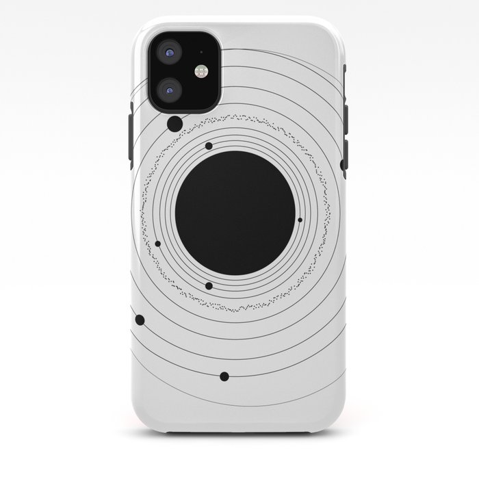 SOLAR SYSTEM (with Pluto) iPhone Case by jadeariel  Society6