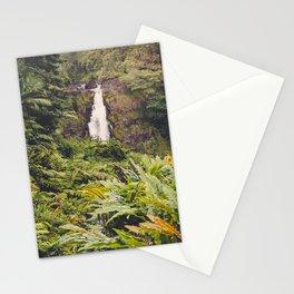 Jungle Waterfall III Stationery Cards