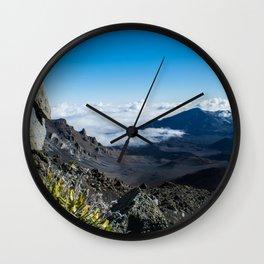 Mt. Haleakala Wall Clock