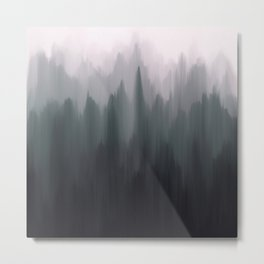 Morning Fog II Metal Print
