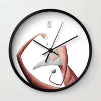 new year Wall Clocks featuring New year by Gianni Ian Puri