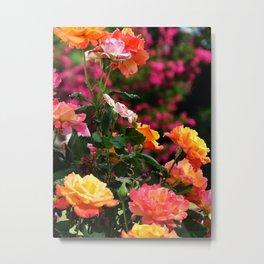 Cluster Of Flowers Metal Print