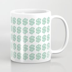 Mint Money Repeat Coffee Mug